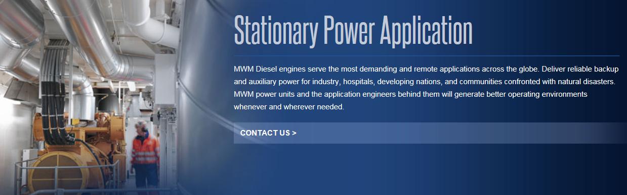 Stationary Power Application | Carod SL Carod SL